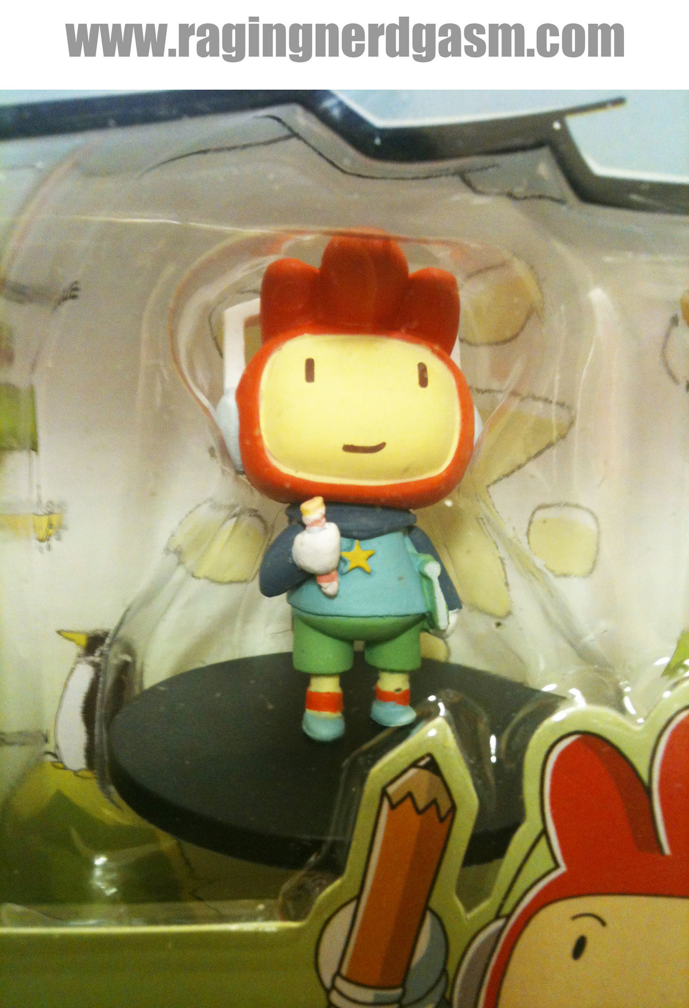 ScribbleNauts by Jazwares Maxwell Collectible Figure 002