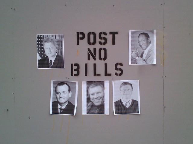 Header of bills