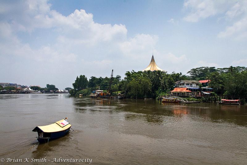 Tambang Crossing the Sarawak River, Kuching