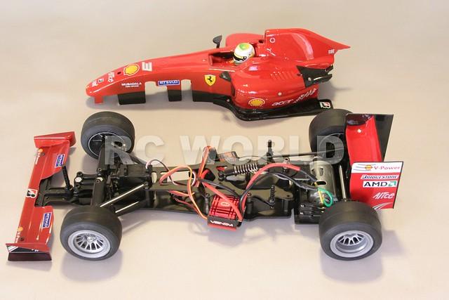 TAMIYA RC F1 FORMULA 1 FERRARI F60 F104