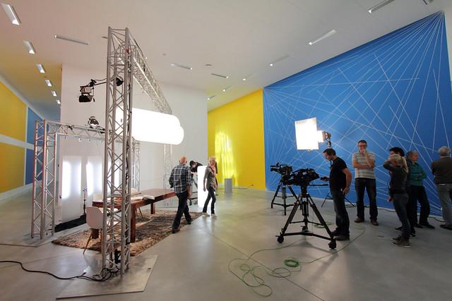 Opnames VTM-programma 'Rijker dan je Denkt?' in M