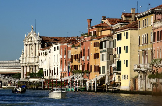 Venedig, Canal Grande, Scalzi-Kirche (Santa Maria di Nazareth)