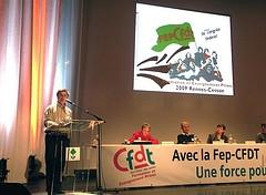 Congrès de la Fep-CFDT
