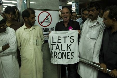 A delegation of US activists are touring Pakistan to protest the use of drones by Washington. Thousands have been killed by these weapons. by Pan-African News Wire File Photos