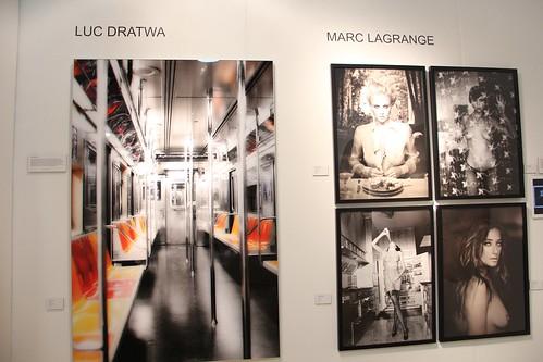 Artist Luc Drawta and Marc Lagrange