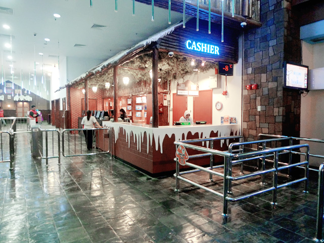 snow world genting entrance