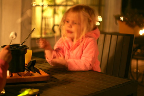 S'mores on the Deck