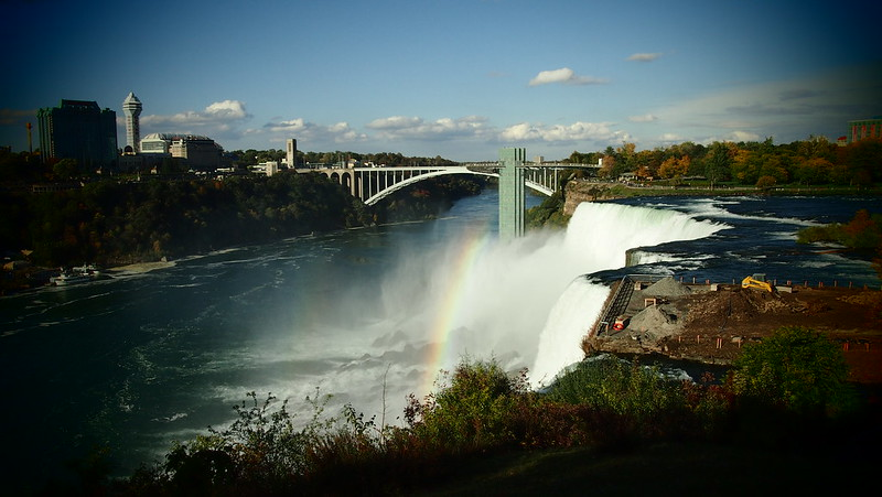 Niagara Falls - American Side Pinhole