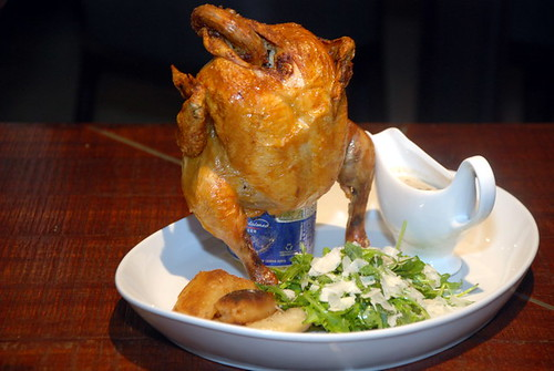 the Estate Beer Roasted Spring Chicken