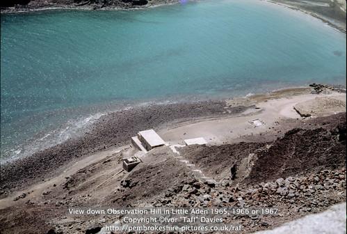 sea landscape coast scenery 1966 1967 yemen 1960s 1965 aden scannedslide onflickr observationhill ghadir gulfofaden arabianpeninsula littleaden adenharbour voigtländervitoc alburayqah bandarshaykh