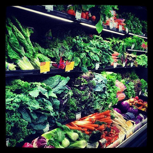 Gorgeous produce at Whole Foods