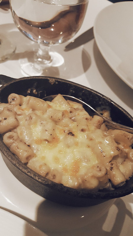 Truffled macaroni cheese