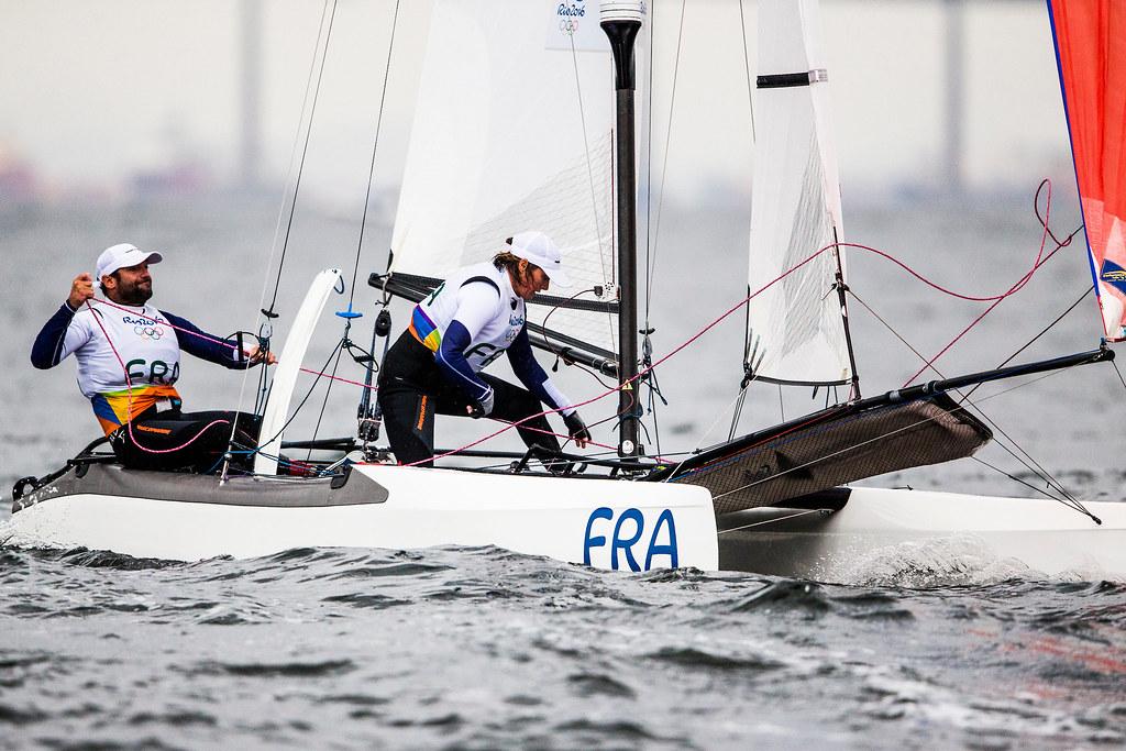 Billy Besson et Marie Riou Rio 2016_Copyright Sailing Energy - World Sailing