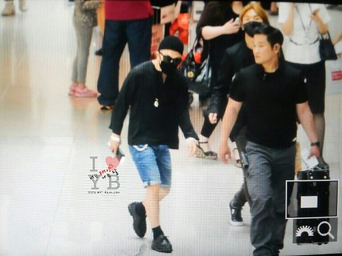 Big Bang - Incheon Airport - 29may2015 - Tae Yang - Urthesun - 05