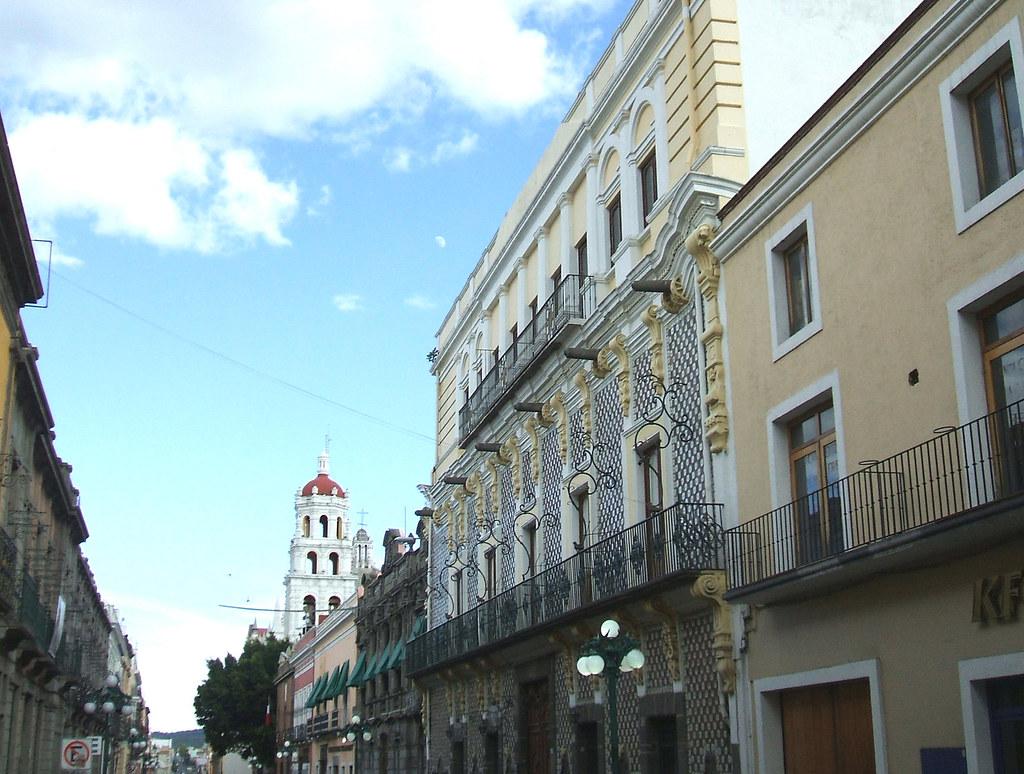Casa de los cañones en la ciudad de Puebla