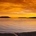 San Juan Islands Sunset by EdBob