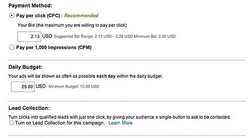 LinkedIn Ads: Create New Ad