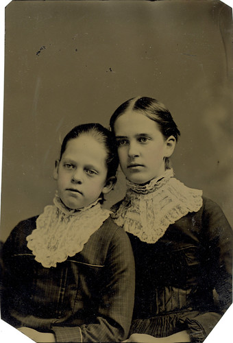 Laura and Mary Thresher, June 1880
