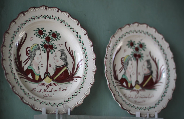 Le Château - ceramics on landing