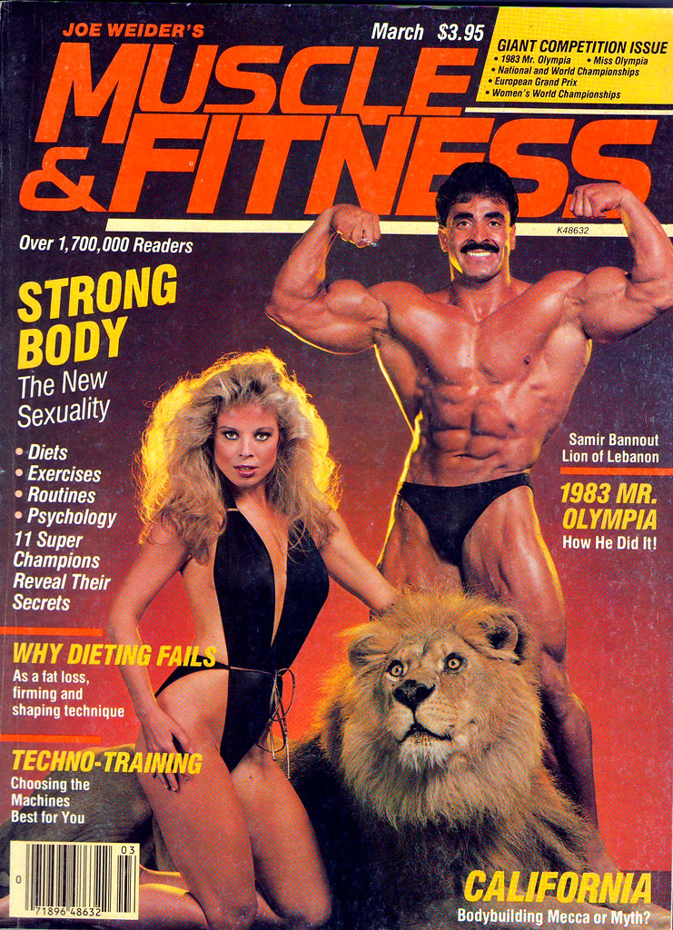 Retrospace: Let's Get Physical #12: 1980s Muscle Mags