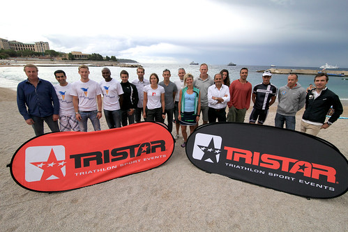 Press Conference of the TriStar Monaco 2012