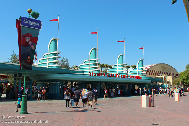 Disney California Adventure main entrance