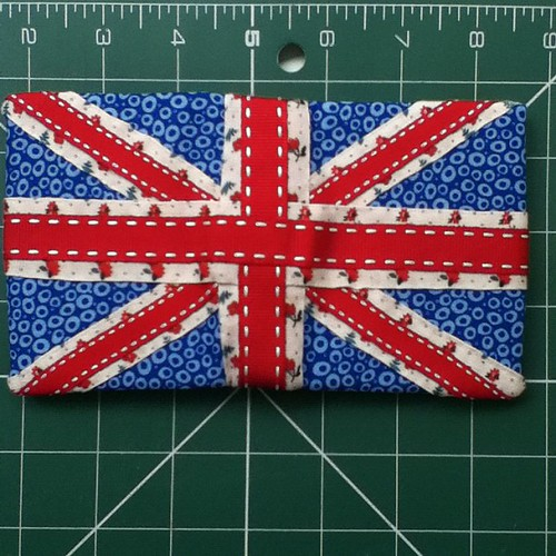 Union Jack needle case