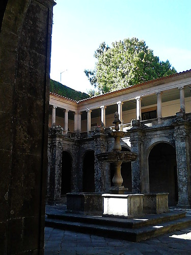 Cloister & fountain