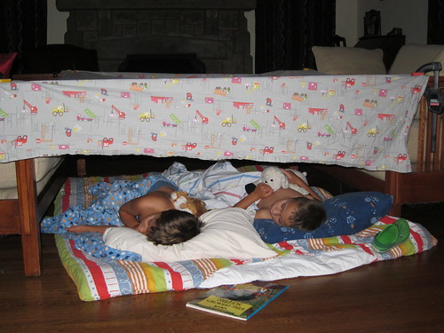 Fort sleeping