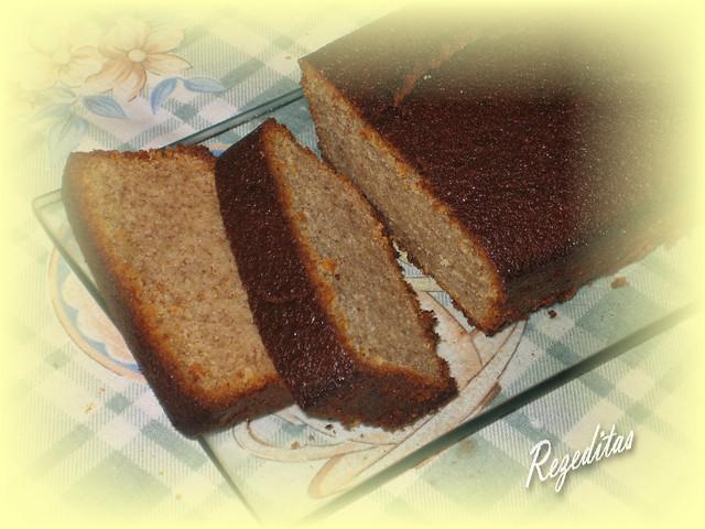 CAKE DE PLATANO Y MAIZ