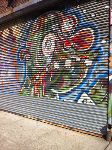 Bushwick Graffiti :: Scary Ogre