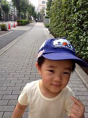 「おれおれ、おれだよ!」 - 朝散歩 (2012/9/6)