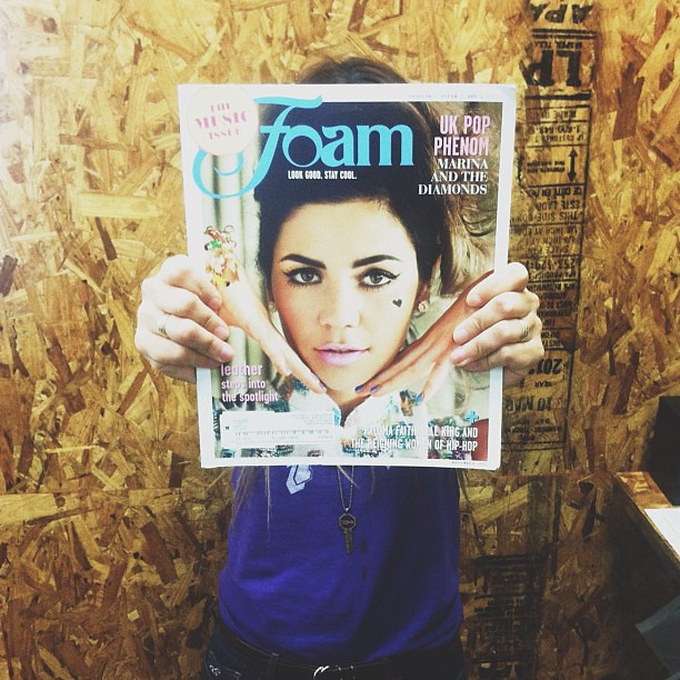 Happy mail day! @foammag can't wait to dive in!