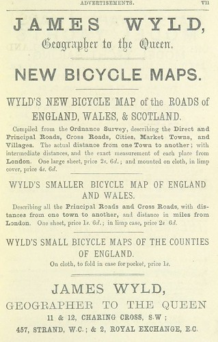 James Wyld New Bicycle Maps