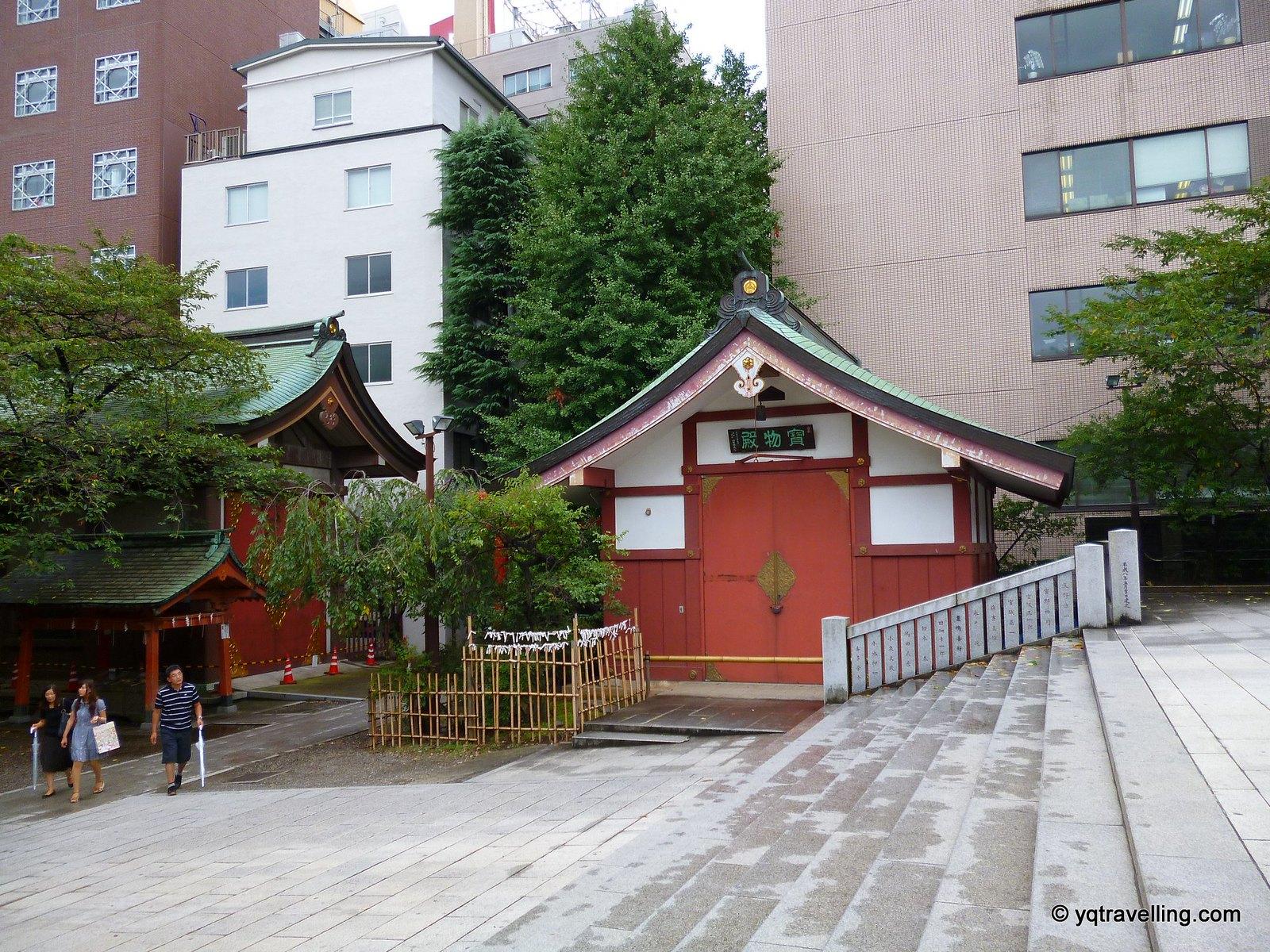Hanazno jinja treasure room