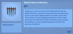 Walled Wand Collection