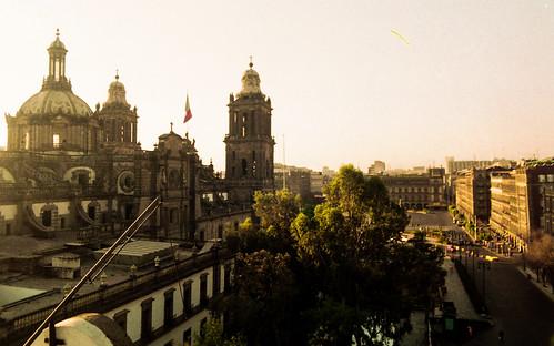film sunrise 35mm mexicocity catedral pelicula metropolitana olympusom om1n plënka