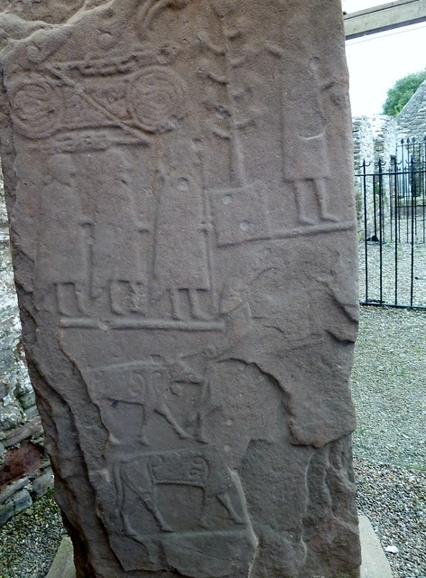 Carved Pictish Stone,Eassie