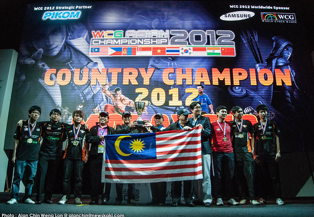 World Cyber Games 2012 Country Champion Malaysia