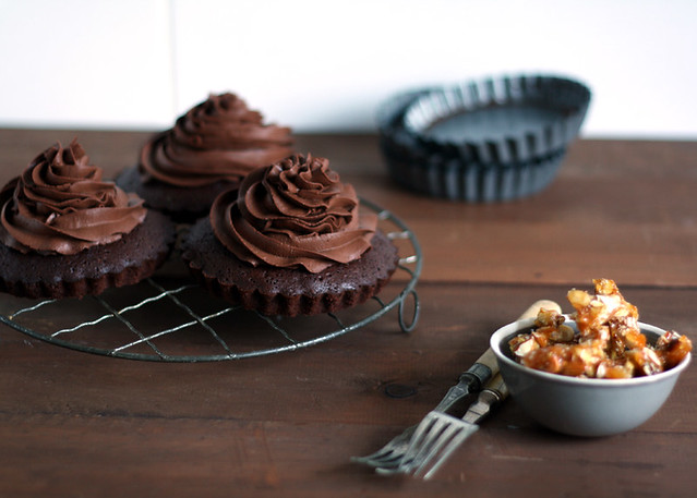 Gluten Free Scallywg Chocolate Mascapone Brownie Tarts