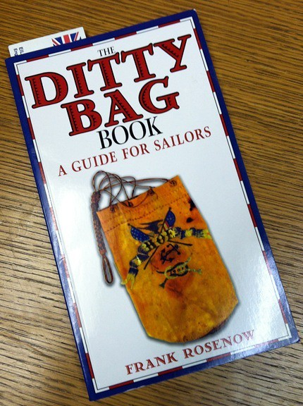 Just got this in the mail. Should come in handy with the project i started last night and learning to sew my own sails.