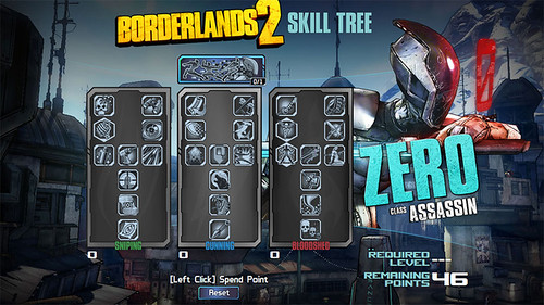 Borderlands 2 'Unseen Predator' Guide - Keep Zero in Deception Mode