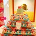 Adrienne Clare's Pink and Blue Cupcake Tower