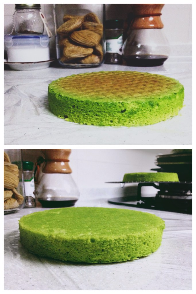 Pandan Gula Melaka Layer Cake and Decorating Tips