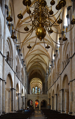 Chichester Cathedral Nave