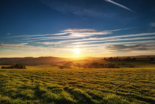 Sunset over Findon [explored]