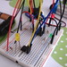Breadboard test for intervalometer circuit