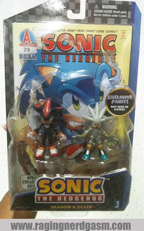 Sonic The Hedgehog Figures by Jazwares Shadow & Silver 019