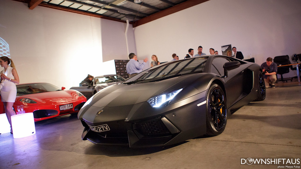 écurie25: Aventador Launch