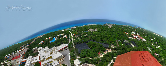 ON TOP OF XCARET JUNGLE